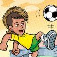 Olha que fofo o boneco de Neymar Jr. na Turma da Mônica!