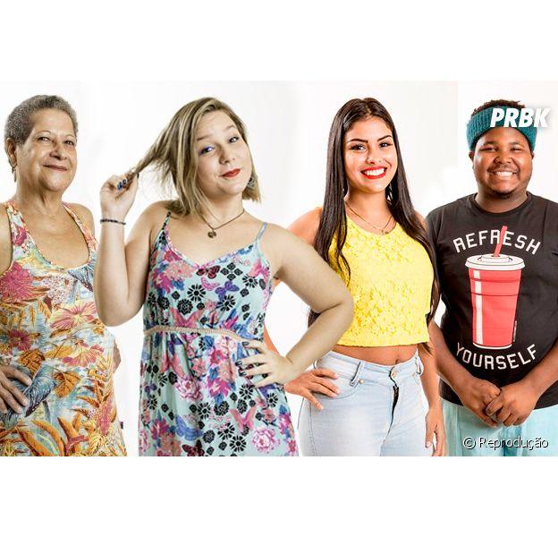 """Do """"BBB16"""": Geralda, Maria Claudia, Munik e Ronan têm mais dois desafios pela frente!"""