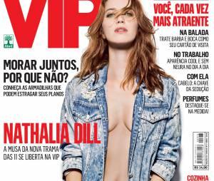 Nathalia Dill estampa capa e recheio da edição de abril da revista VIP