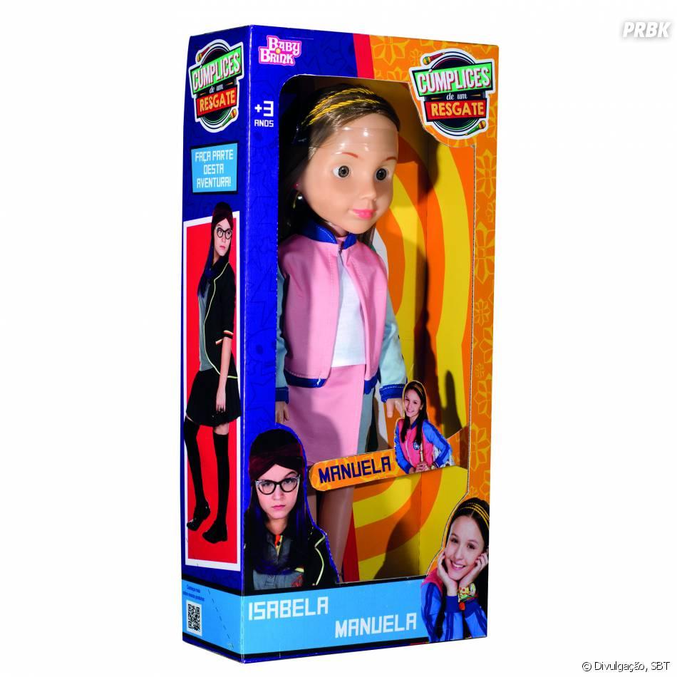 Agora você já pode cantar com a boneca da Manuela (Larissa Manoela), de 33bbaed60e