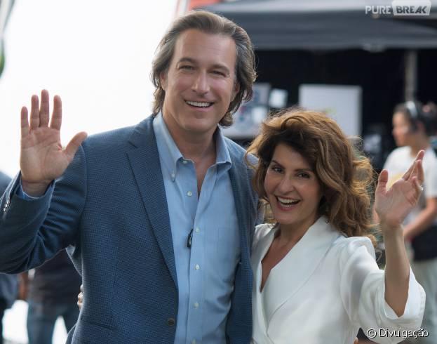 """Nia Vardalos e John Corbett reprisam os seus papéis em """"Casamento Grego 2"""""""