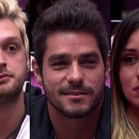 """Paredão """"BBB14"""": Cássio, Diego e Letícia se enfrentam no reality da Globo"""