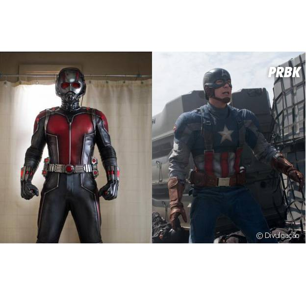 """Paul Rudd interpreta o Homem-Formiga em """"Capitão América 3"""""""