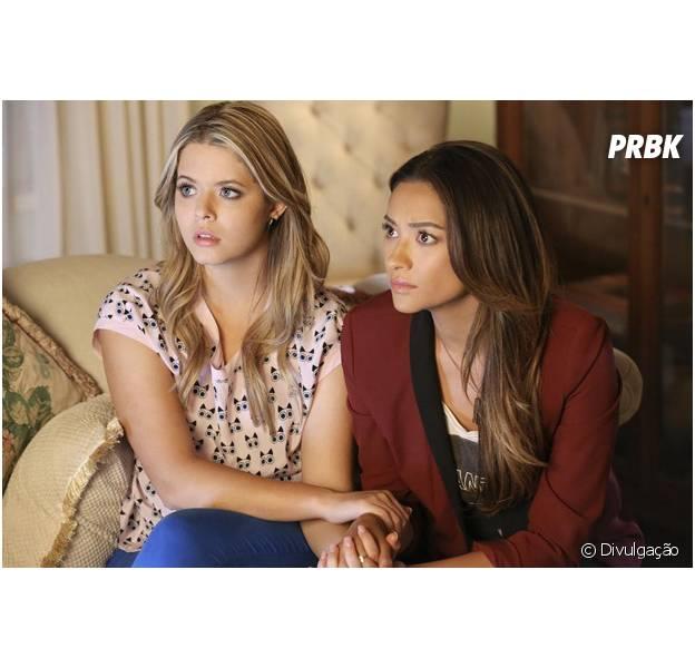 "De ""Pretty Little Liars"": Alison (Sasha Pieterse)e Emily (Shay Mitchell) podem terminar juntas!"