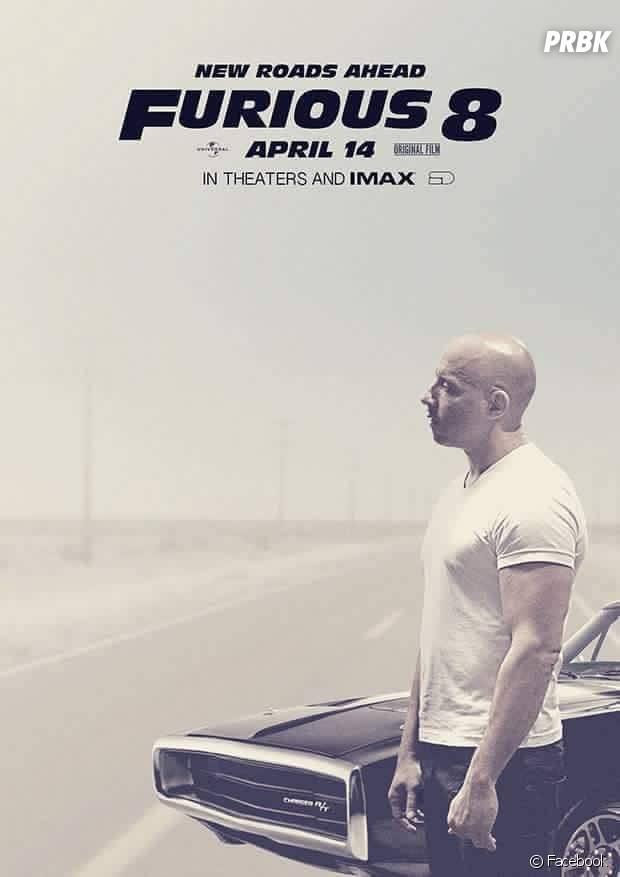 "Vin Diesel posta cartaz de ""Velozes & Furiosos 8"""