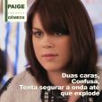 """Em """"Pretty Little Liars"""": a Paige (Lindsey Shaw) também não é segredo para ninguém, né?"""