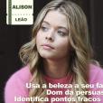 """Em """"Pretty Little Liars"""": a obsessão pela beleza, só prova o quanto Alison (Sasha Pieterse) é mesmo uma leonina!"""