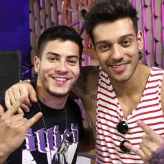 """Lucas Lucco, de """"Malhação"""" e Arthur Aguiar, de """"Êta Mundo Bom"""", exibem tanquinhos no Instagram!"""