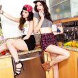 Kendall e Kylie Jenner são muito fotogênicas, né?