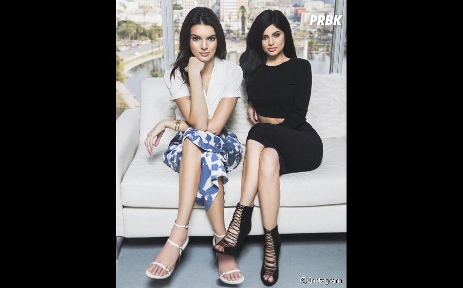 Kendall e Kylie Jenner são finas demais!