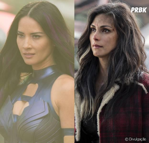 "Olivia Munn quase interpretou Vanessa Carlyle, papel de Morena Maccarin em ""Deadpool"""