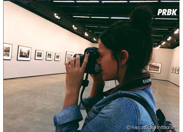 Bruna Marquezine gostaria de estudar fotografia ou ser arquiteta