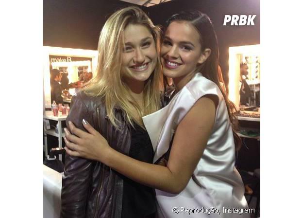 Bruna Marquezine e Sasha Meneghel são melhores amigas desde pequenas