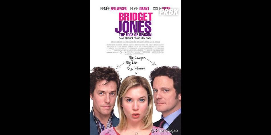 """E como esquecer de """"Bridget Jones no Limite da Razão"""", que agitou as meninas em 2004!"""