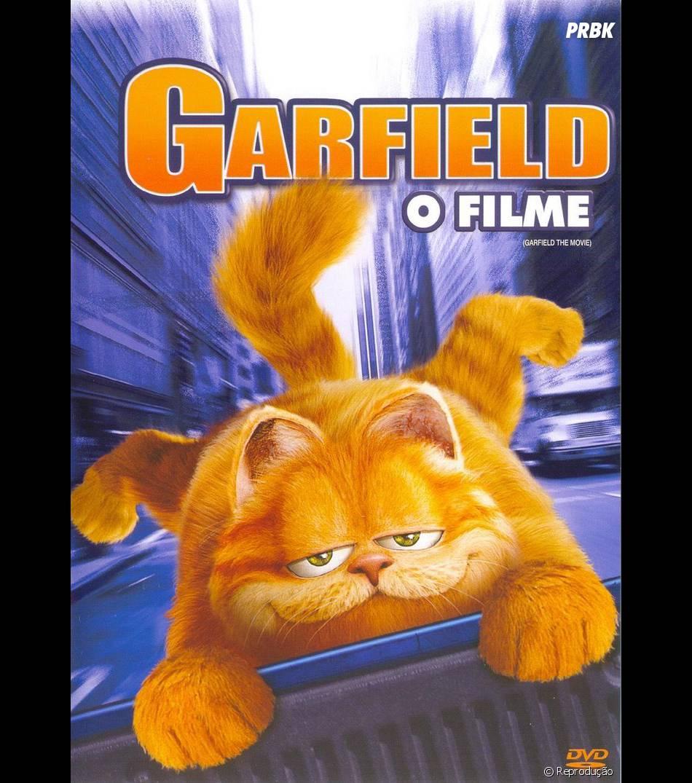 """""""Garfield - O Filme"""" já tem 10 anos! O tempo voa!"""