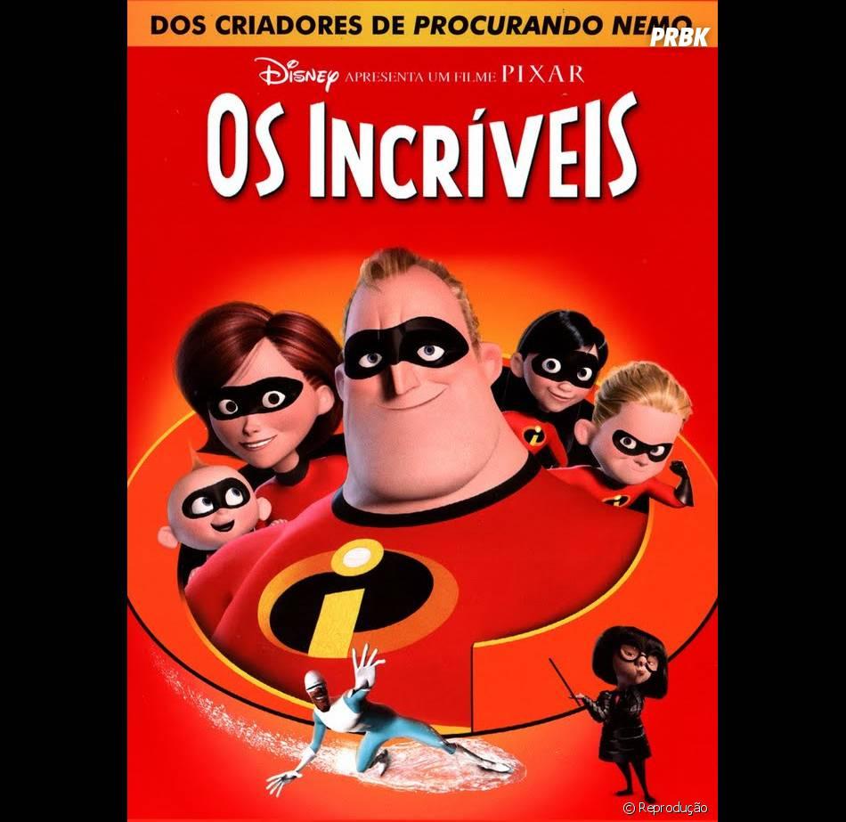 """A animação """"Os Incríveis"""" também completa uma década em 2014"""