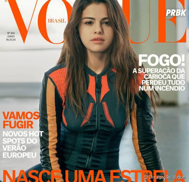 Selena Gomez posa para a capa da