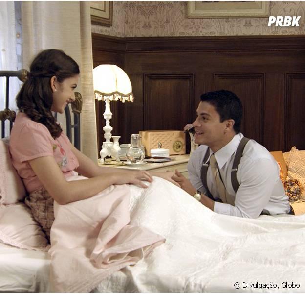 """Em """"Êta Mundo Bom!"""", Osório (Arthur Aguiar) pede Gerusa (Giovanna Grigio) em casamento!"""