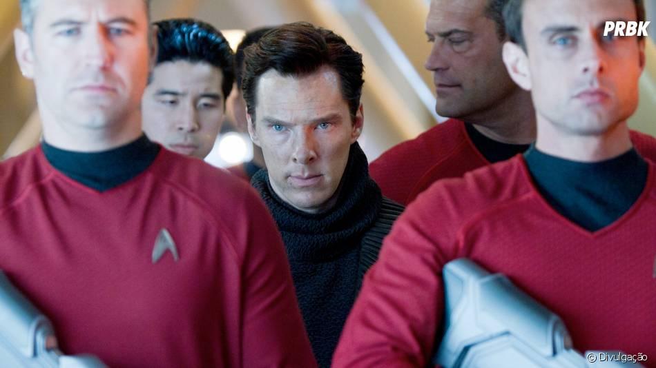 Benedict Cumberbatch interpreta o vilão Khan no filme de J.J. Abrams