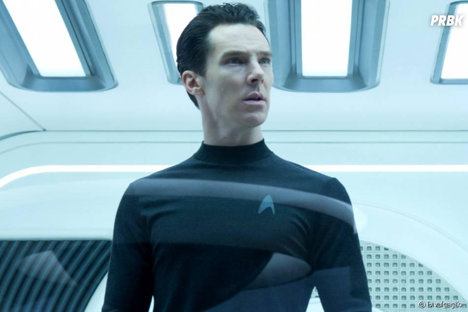 """Benedict Cumberbatch pode retornar no terceiro filme da franquia """"Star Trek"""""""