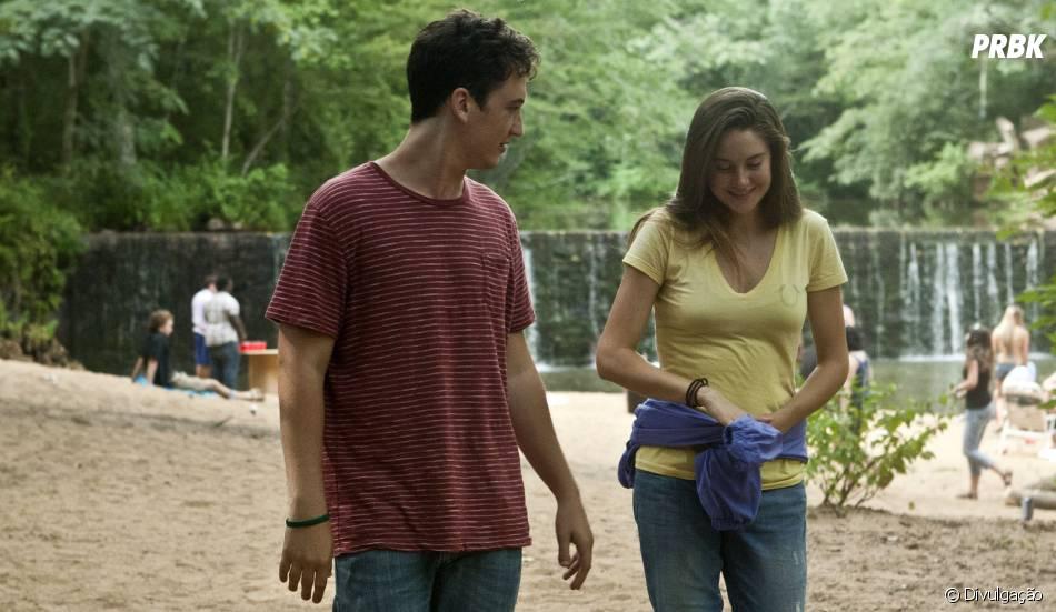 """Miles Teller ao lado de Shailene Woodley em cena de """"The Spetacular Now"""""""
