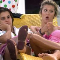 """No """"BBB14"""": Tatiele e Cássio discutem e ele ameaça por a sister no paredão"""