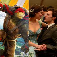 """Duelo: """"As Tartarugas Ninja 2"""" ou """"Como Eu Era Antes de Você"""", qual a maior estreia da semana?"""