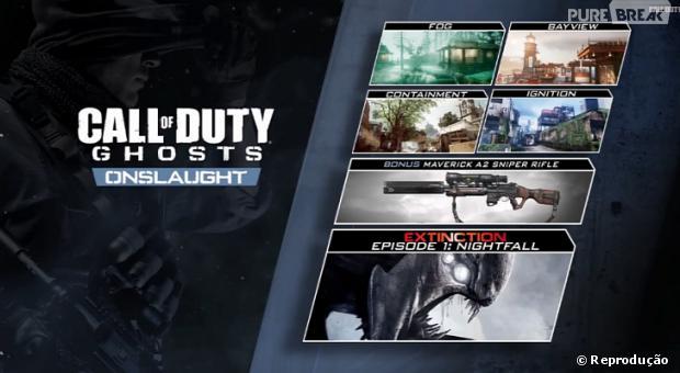 Detalhes do conteudo do DLC Onslaught