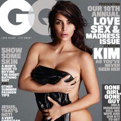 Kim Kardashian fica nua na revista GQ! Veja as fotos do ensaio sensual