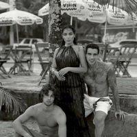 Anitta e Pablo Morais posam juntos para a edição de julho da revista Harper's Bazaar Espanha!