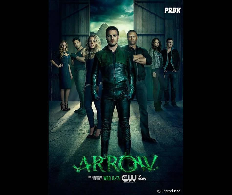 """""""Arrow"""" está na sua segunda temporada"""