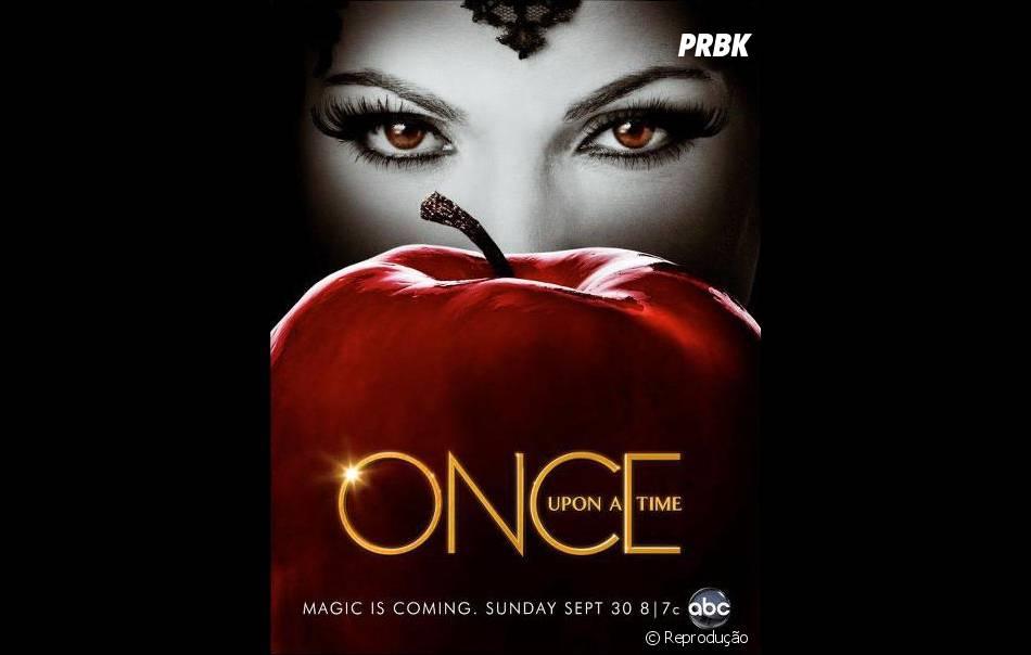 """""""Once Upon a Time"""" está em sua terceira temporada"""