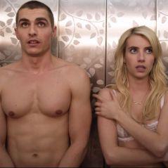 """Emma Roberts e Dave Franco tiram a roupa em novo vídeo de """"Nerve"""""""