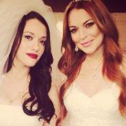 """Série """"2 Broke Girls"""" divulga dois vídeos com a participação de Lindsay Lohan"""