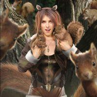 """Anna Kendrick na Marvel? Atriz de """"A Escolha Perfeita 3"""" é a Garota Esquilo em nova fan art"""
