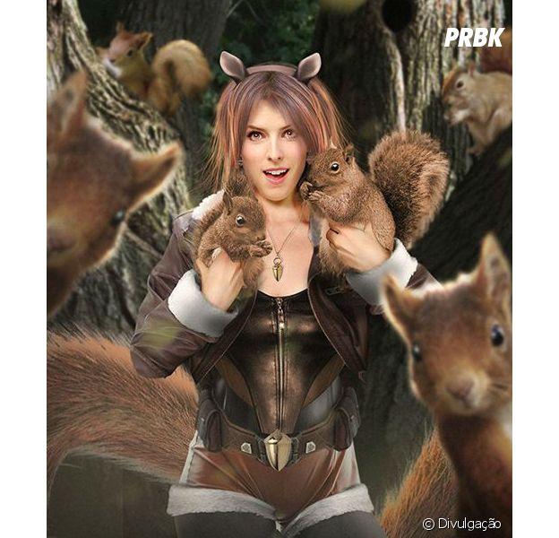 Anna Kendrick poderia interpretar a Garota Esquilo nos filmes da Marvel