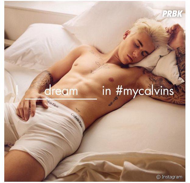 Justin Bieber ficou só de cueca para a Calvin Klein. Veja outros astros em fotos bem sensuais!