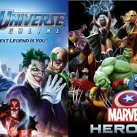 Duelo: DC Comics versus Marvel: uma eterna rivalidade até mesmo em um MMORPG