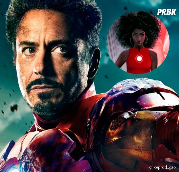 Homem de Ferro mulher? Robert Downey Jr, o intérprete do Tony Stark, fala da polêmica no Twitter