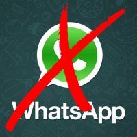 WhatsApp é bloqueado novamente nesta terça-feira (19) por determinação da Justiça!