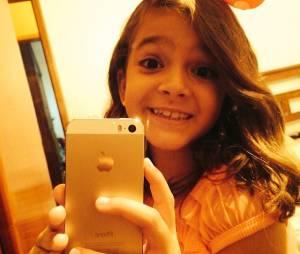 Mel Maia adora uma selfie no Instagram