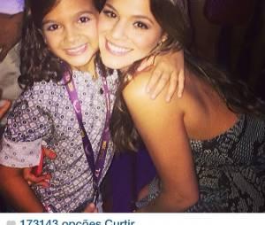 Mel Maia e Bruna Marquezine no Instagram