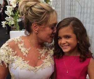"""Mel Maia e Suzana Vieira... será que ia rolar um """"Beijinho no Ombro""""?"""