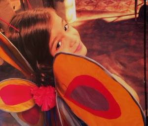 Mel Maia de borboleta no Instagram