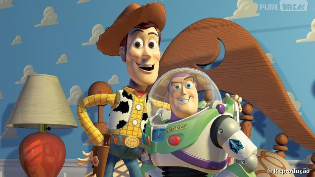 """""""Toy Story"""" contava como era a vida de brinquedos quando seus donos se afastavam!"""