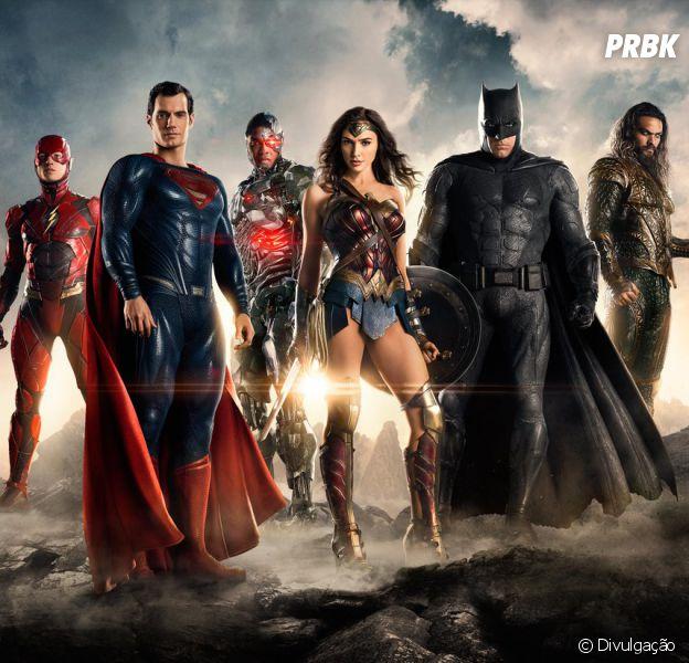 """""""Liga da Justiça - Parte Um"""" e """"Mulher-Maravilha"""" são produções da Warner"""
