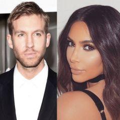 Kim Kardashian e Calvin Harris comemoram festa de Jennifer Lopez, após de briga com Taylor Swift!