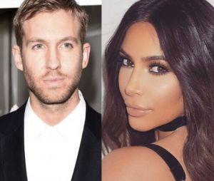 Kim Kardashian e Calvin Harris se encontram depois de confusão com Taylor Swift
