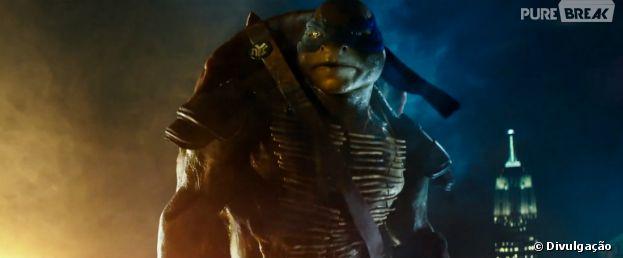 """""""Tartarugas Ninja"""" vai chegar aos cinemas em agosto"""