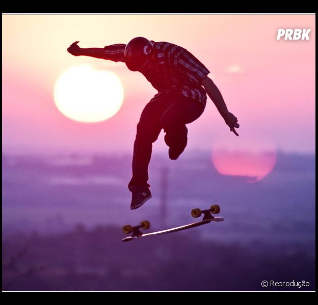 O Skate com certeza é um dos esportes que deveria entrar nas Olimpíadas